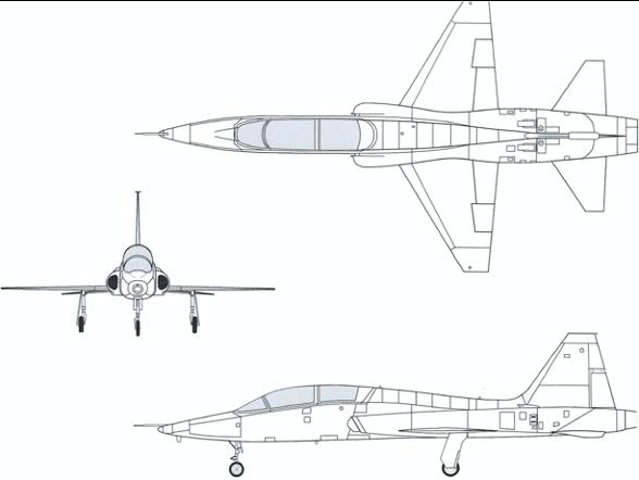 T-38 Talon | F-5 A/B Freedom Fighter